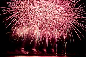 小野田でお祝い夢花火を撮ってきた。