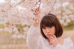 宇部の真締川公園で桜ポトレしてきたよ!