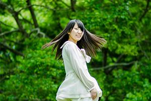 矢原河川公園で緑をテーマにポートレート撮ってきたよ!