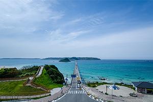 山口県を代表する観光地の角島を撮ってきた!