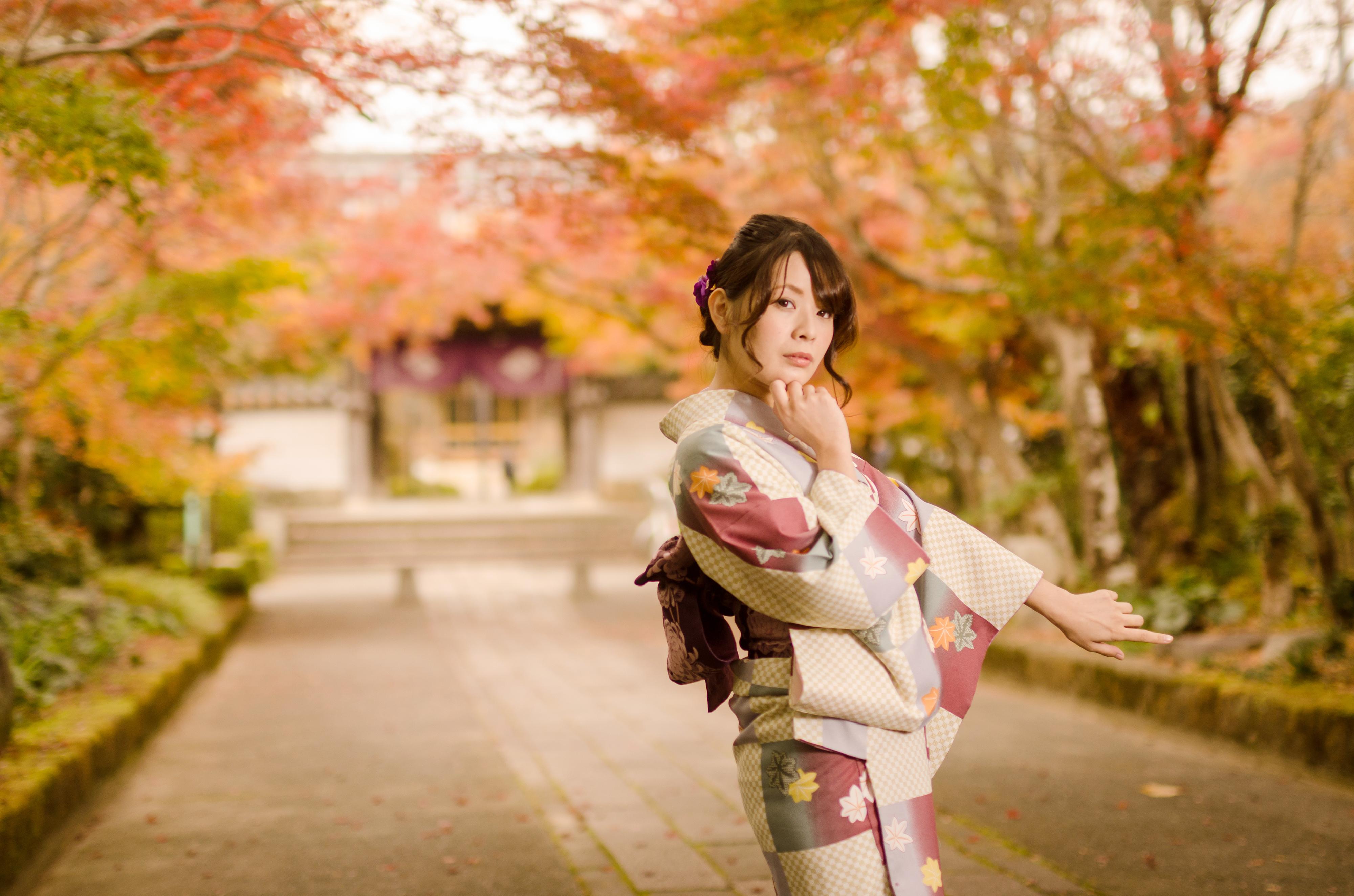 山口市菜香亭と龍福寺で紅葉ポートレート撮ってきた!