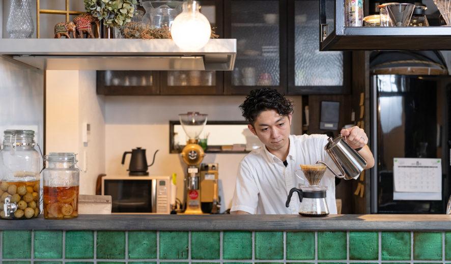 山口市のNishida Coffee(西田珈琲)さんの撮影。